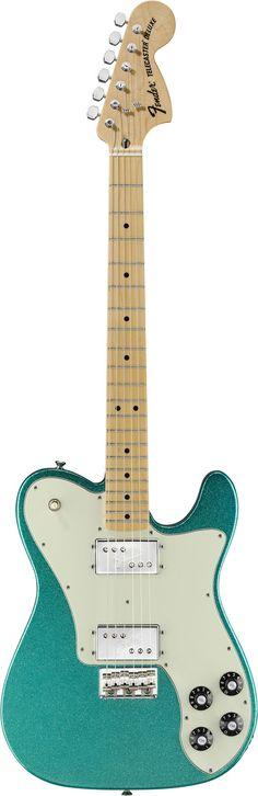 Fender FSR Classic Series 72 Telecaster Deluxe Aqua Flake