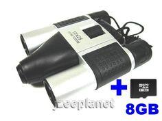 DIGITAL 10x25 BINOCULARS DIGITAL CAMERA TELESCOPE VIDEO CAMCORDER CMOS 1.3 MP PC WEBCAM 4 IN 1