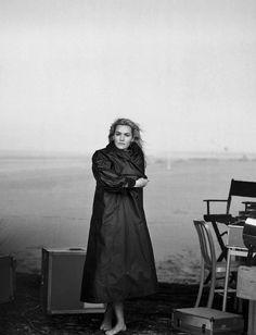 Vogue Italia November 2015 Actress: Kate Winslet Photographer: Peter Lindbergh Fashion Editor: Clare Richardson Hair: Odile Gilbert Makeup: Tom Pecheux