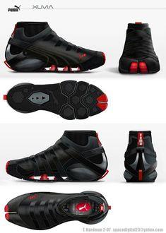 Puma Parkour, Mirror's Edge and Running concept shoe Me Too Shoes, Men's Shoes, Nike Shoes, Shoe Boots, Parkour, Sports Shoes, Basketball Shoes, Shoe Sketches, Chuck Taylors