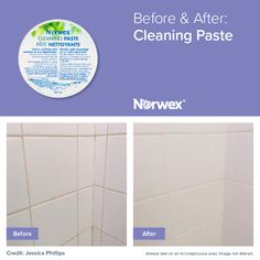 Fantastic results using the Norwex Cleaning Paste!