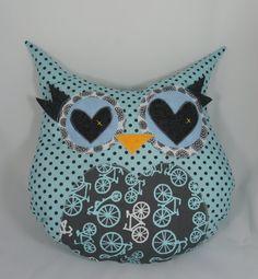 owl pillow = love