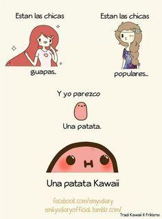 Una patata kawaii