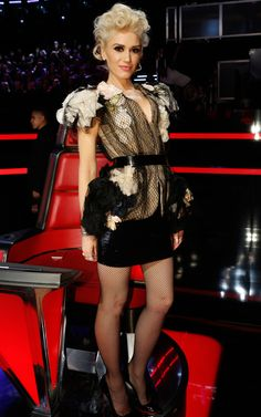 2ff60ee478 Gwen Stefani s Stylists Reveal Why Her Looks on The Voice Were Completely  Different