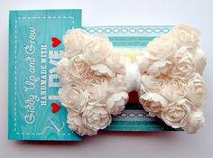 Flower Bow for Hair