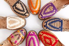 Monday calls for some visual inspiration. The colorful Huarache Sandal sends our imaginations into Spring thinking!