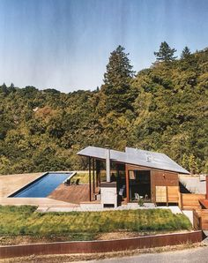 Camp Baird - Healdsburg, CA Off the grid house.