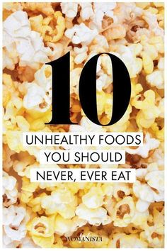 """You might be surprised by some of these """"healthy"""" foods — there might even be … - Diet and Nutrition Low Fat Snacks, Healthy Snacks, Healthy Recipes, Healthy Habits, Eating Healthy, Easy Recipes, Clean Eating, Eating Well, Easy To Make Dinners"""
