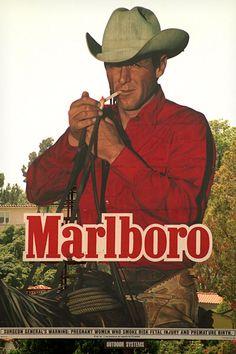 Image result for Marlboro Man cigarette commercial