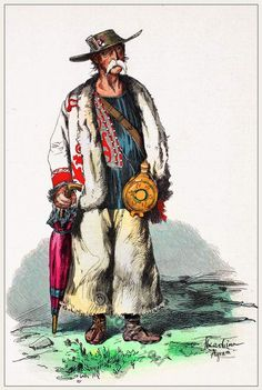 Traditional Croatia folk costume. [Franz Lipperheide, 1876-1887]