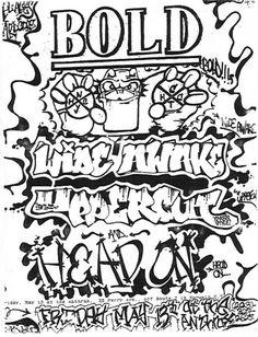 Bold, Wide Awake, Uppercut punk hardcore flyer