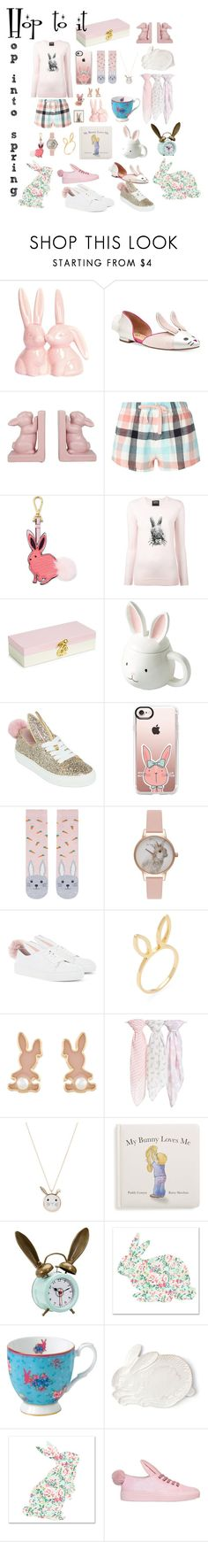 """""""Hop into Spring!"""" by krisannebaker on Polyvore featuring Dorothy Perkins, Draper James, Markus Lupfer, Celebrate Shop, Minna Parikka, Casetify, Accessorize, Olivia Burton, Jacquie Aiche and Nordstrom"""