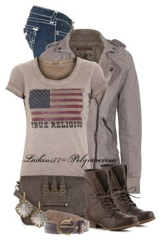 True Religion by latkins77 on Polyvore featuring polyvore fashion style True Religion Madden Girl Sole Society Freida Rothman