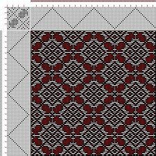 Drawdown Image: Plate 66, No. 16, Neues Build-und Muster-Buch zur Beforderung der Edlen Leinen-und Bild-Weberkunst, Johann Michael Kirschbaum, 16S, 16T