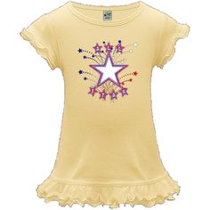 Fun Boys All Star Design featuring red white and blue stars, perfect to customize with your child's name!!