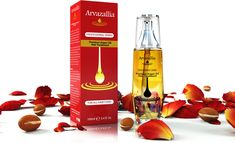 Argan Oil for Hair Treatment by Arvazallia is an excellent hair treatment for damaged hair. Anyone with a damaged hair can use this hair oil to get the perfect result. This oil works like live in conditioner and can smooth frizzy hair in minutes. Best Hair Growth Oil, Coconut Oil Hair Growth, Hair Growth For Men, Amla Oil, Jojoba Oil, Argan Oil Skin Benefits, Argan Oil Hair Treatment, Anti Hair Loss Shampoo