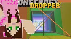 Minecraft: RAINBOW MADVENTURE! - LIBRARY DROPPER - Custom Map [4] - YouTube