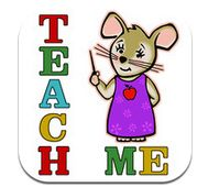 Teach Me is an app that teaches four different age appropriate subjects to Kindergarten aged children; sight words, addition, subtraction and spelling.