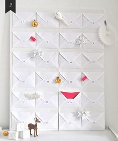 DIY advent calendar: over 50 ideas for tinkering from simple to unusual - DIY Gifts Alternative Advent Calendar, Diy Calendar, Printable Calendar Template, Diy Christmas Advent Calendar, Calendrier Diy, Homemade Advent Calendars, Calendar Organization, Diy Crafts For Adults, Advent