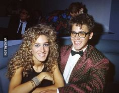 Sarah Jessica Parker and Robert Downey Jr. I don't know what to say...