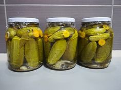 Ezt én is kiprobálom. Larder, Preserves, Pickles, Cucumber, Grilling, Muffin, Food Porn, Food And Drink, Meals