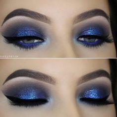 Gorgeous Eye-Makeup Looks for Blue Eyes ★ See more: http://glaminati.com/blue-eyes-makeup-looks/