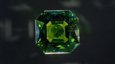 This 146.10-carat peridot is in the collection of the Natural History Museum in London.