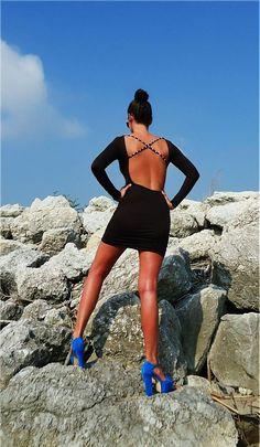 Šaty by -LEVA- - SAShE.sk - Handmade Šaty