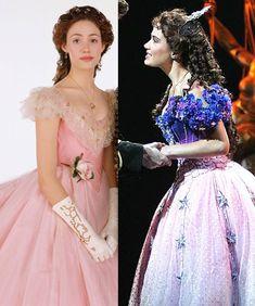 Christine Daee Stage vs Movie Costumes - Masquerade