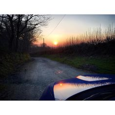 Bumpy road ahead #Subaru #subaruimpreza #subaruimprezawrx #subarusofinstagram #impreza #imprezawrx #imprezawrxs #scooby #cornish #cornwall #kernow #sun #sunset #sundown #spring by c6eth