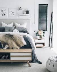 Minimalist bedroom ideas by ettitude.com. Shop with ettitude.com.au to find your perfect duvet cover and the softest bamboo bed sheets you will ever sleep in.    Image Source: Unknown.