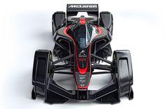 McLaren MP4-X Concept is a Futuristic F1 racer - Geeky Gadgets
