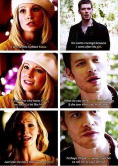 foreverahunteralwaysanoriginal: Klaus and Caroline