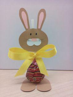 Velikonoční zajíčci z lízátka
