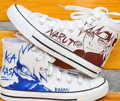 Hand Painting Shoes Naruto Uzumaki Hand Painted Canvas Shoes,High-top Painted Canvas Shoes
