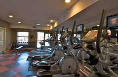 FITNESS CENTER: One of our many amenities included at The Pavilion on Berry