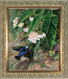 Overstock Art Brazilian Flowers by Marianne North (Framed Canvas)