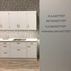 Puukeittiö Kevätmessuilla 2017  #jalokaluste #kevätmessut2017 #keittiö #suomalainendesign #finnishdesign #design