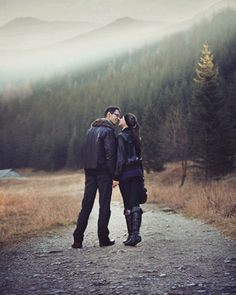 All I need is you and the mountains...but i guess you are my mountain, huh? ;)