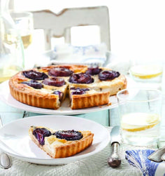 Red Onion Quiche with Goat