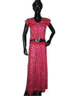 Designer Red Pink Lehenga Choli Indian Fashion « Dress Adds Everyday