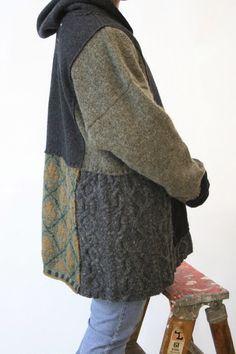 Из старых свитеров