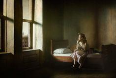 Richard Tuschman photo, inspired by Edward Hopper's paintings