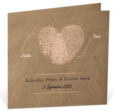 Faire part mariage vintage pour annoncer d'une belle façon votre union, ref N45121