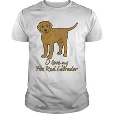 Do you love #Fox Red #Labs?. 100% Printed in the U.S.A - Ship Worldwide. Not sold in stores. Guaranteed safe and secure checkout via: Paypal | VISA | MASTERCARD? | YeahTshirt.com
