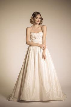 Silk Taffeta,Strapless, Sweetheart,Ballgowns & Bellgowns, Ballerina - Austen   Amy Kuschel