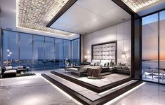 4 bedroom luxury penthouse for sale in 1451 Brickell Avenue, Miami, FL Mi… - Home Decor New York Penthouse, Penthouse For Sale, Luxury Penthouse, Penthouse Apartment, Luxury Bedroom Design, Luxury Home Decor, Luxury Homes, Interior Design, Luxury Master Bedroom