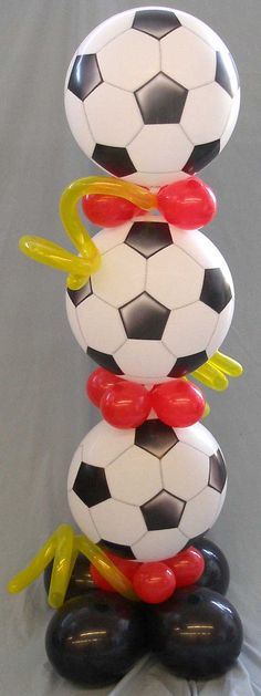Soccerball Bubble Stack