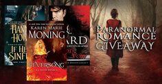 #ParanormalRomance #Giveaway – #Win 3 #PNR Novels! #FREEbooks #ibooks #bookaddict