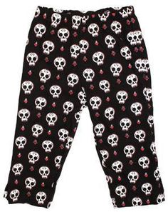 Day of the Dead Baby Pants   $25.00